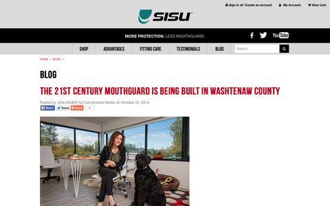 Screenshot of Blog sisuguard.com - Blog - captured Nov. 2, 2014
