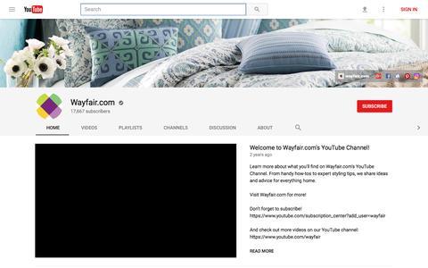 Wayfair.com - YouTube
