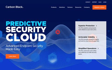 Carbon Black   Transforming Endpoint Security with Big Data Analytics