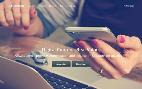 Offer Wall App Monetization - AdGate Media