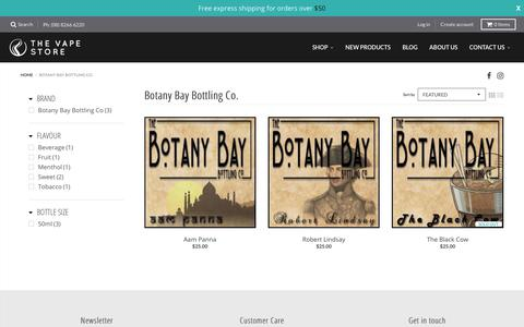 Botany Bay Bottling Co. – The Vape Store