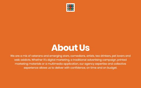 Screenshot of About Page wearetheworks.com - About Us - The Works Creative, Design & Digital Agency Durham - captured May 30, 2019