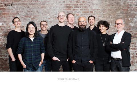 Screenshot of Jobs Page 42dp.com - Jobs - 42dp Labs GmbH - captured Oct. 19, 2018