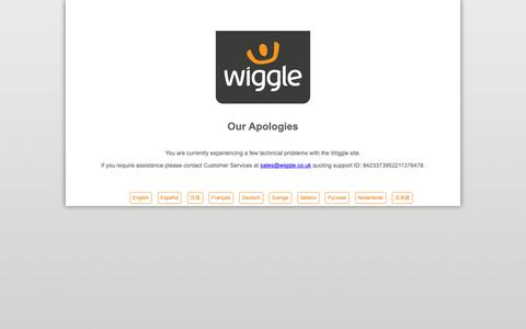 Screenshot of Jobs Page wiggle.co.uk - Mountain Bikes | Road Bikes | Cycle Clothing & Accessories Wiggle - captured Dec. 15, 2018