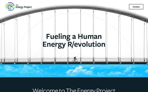 The Energy Project | Fueling a Human Energy R/evolution