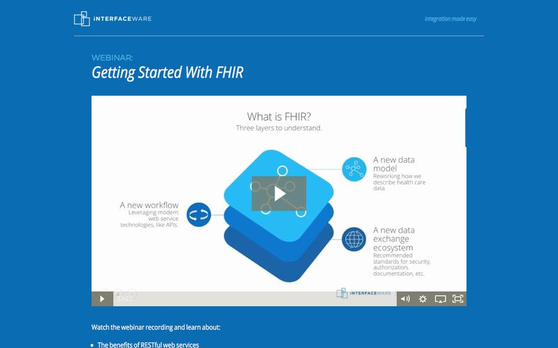 Webinar: Getting Started With FHIR