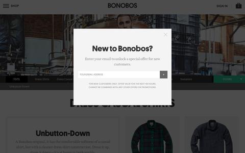 Men's Unbutton-down Shirts   Bonobos