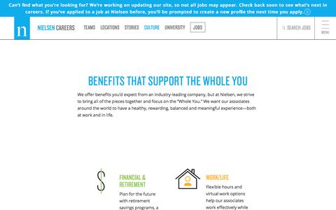 Benefits | Nielsen Careers