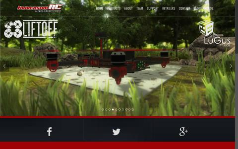 Screenshot of Home Page immersionrc.com - ImmersionRC - Real Virtuality - Top Quality FPV Products - captured Sept. 19, 2015