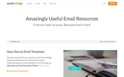 Email Resources · sendwithus