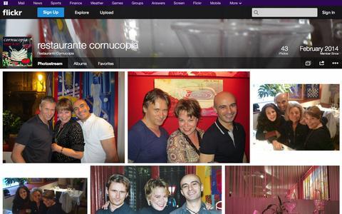 Screenshot of Flickr Page flickr.com - Flickr: Restaurante Cornucopia's Photostream - captured Oct. 22, 2014