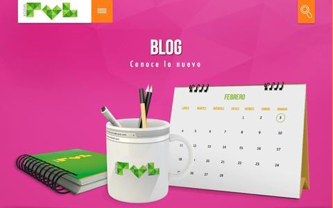 Screenshot of Blog rosvel.com - BLOG – RVL – ROSVEL -SITIO WEB - captured Dec. 20, 2016
