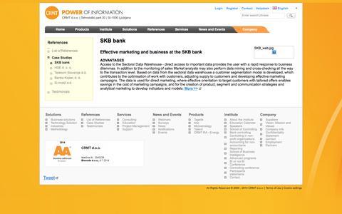 Screenshot of Case Studies Page crmt.com - Case Studies :: CRMT - captured Oct. 1, 2014