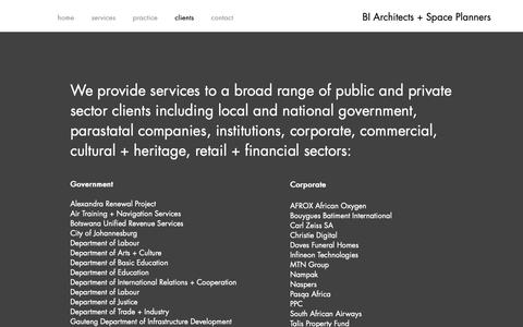 Screenshot of About Page biasp.co.za - BIASP   clients - captured Nov. 13, 2018