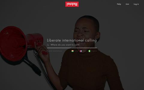 Cheap International Calls and Unlimited Calling | Rebtel.com