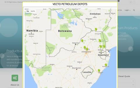 Screenshot of Maps & Directions Page vecto.co.za - Vecto |   Map - captured Dec. 8, 2016