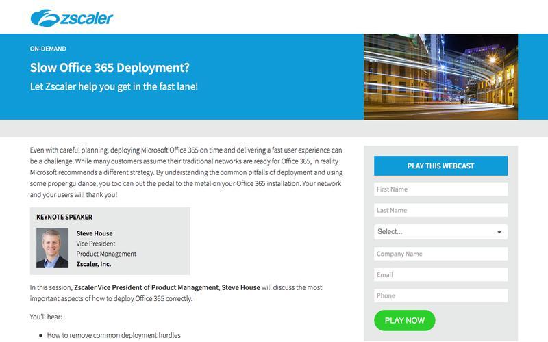 Office 365 Deployment   Zscaler