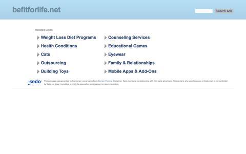 befitforlife.net-befitforlife Resources and Information.