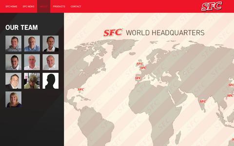 Screenshot of Team Page sfcltd.co.uk - SFC Ltd - captured Sept. 29, 2017