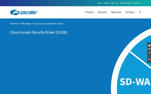 CASB Partners   Zscaler