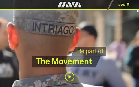 Screenshot of Home Page iava.org - Iraq and Afghanistan Veterans of America (IAVA) » We've got your back. - captured Feb. 6, 2016
