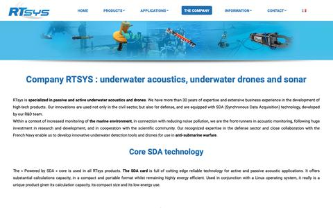 Screenshot of About Page rtsys.eu - Company RTsys - captured Oct. 19, 2018
