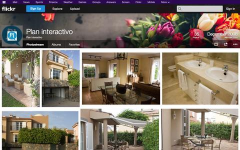 Screenshot of Flickr Page flickr.com - Flickr: Plan interactivo's Photostream - captured Oct. 22, 2014