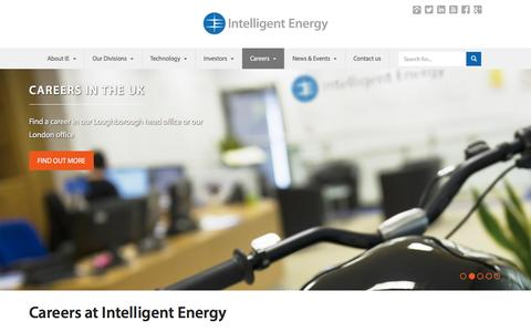 Careers | Intelligent Energy