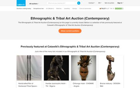 Ethnographic & Tribal Art Auction (Contemporary) - Catawiki