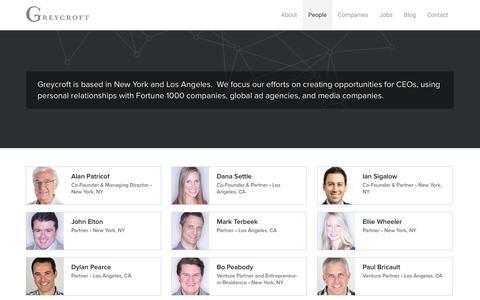 Team Members and Entrepreneurs | Greycroft Partners