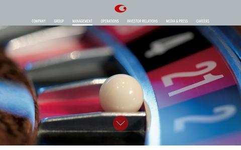 Screenshot of Team Page casinosaustriainternational.com - Management | Casinos Austria International - captured Dec. 7, 2015