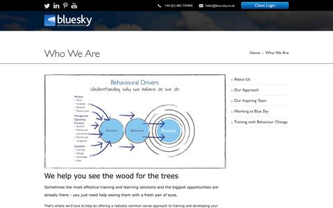 What We Do - Our Approach to Training and Developing Your People - Blue Sky Performance Improvement