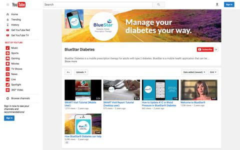 BlueStar Diabetes  - YouTube
