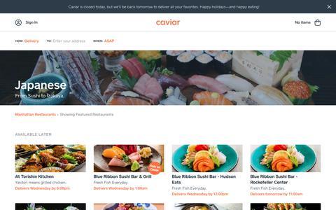 Japanese | Caviar