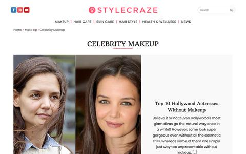Celebrity Make up How To's, Celebrity Makeup Tips and Tricks