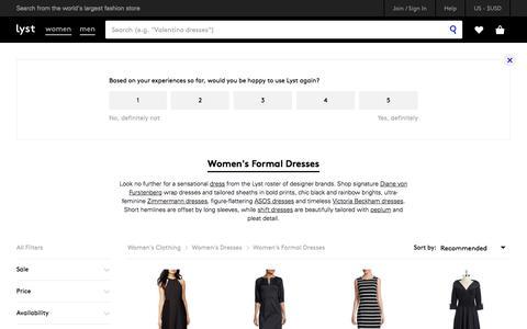 Shop Women's Formal Dresses