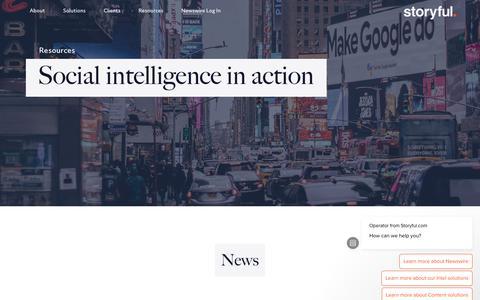 Screenshot of Blog storyful.com - Resources - Storyful - captured Sept. 13, 2018