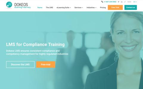 DOKEOS - LMS & E-learning Suite for growing companies