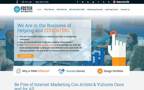 Law Firm Internet Marketing That Works | Foster Web Marketing
