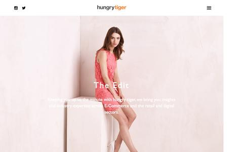 Screenshot of Blog hungrytiger.co.uk - The Edit Archives - Hungry Tiger - captured Feb. 2, 2016