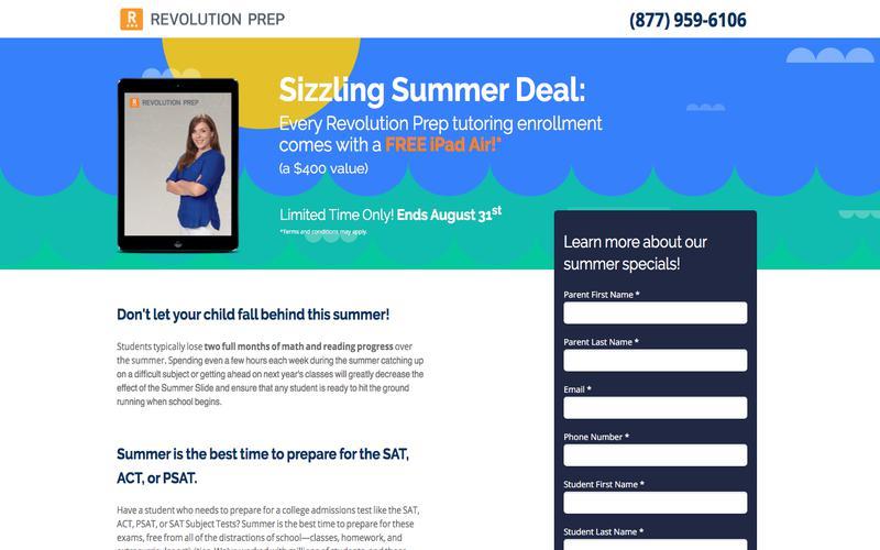 Revolution Prep Summer Deal