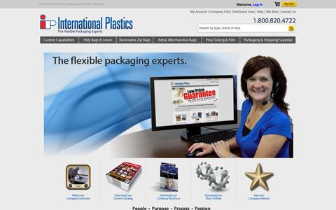International Plastics Company Information  |  About Us  | interplas.com