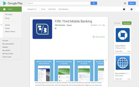 Fifth Third Mobile Banking - Apps on Google Play