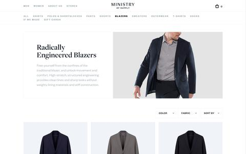 Men's Blazers | Ministry of Supply