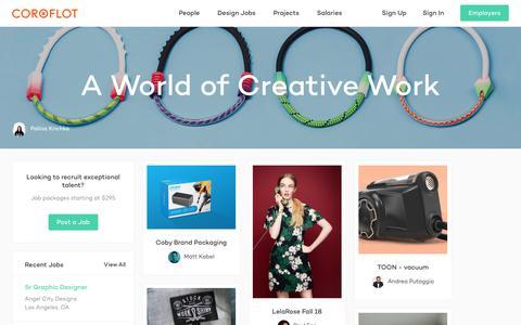 Coroflot — Design Jobs & Portfolios