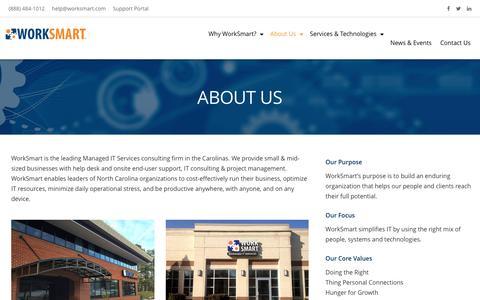 About Us - Raleigh, Durham, Charlotte | WorkSmart