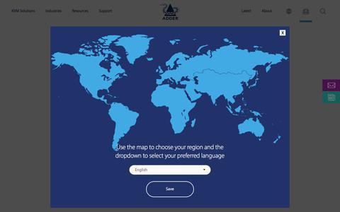 Screenshot of Login Page adder.com - Log in | Adder Technology - captured Sept. 22, 2018