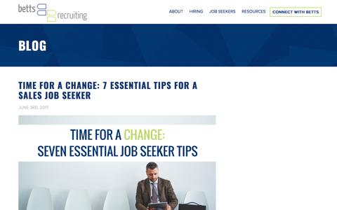 The Betts Blog | The Best Resource For Hiring & Getting Hired