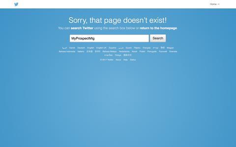 Twitter / ?