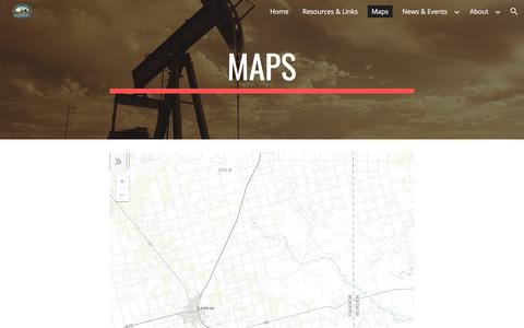 Screenshot of Maps & Directions Page google.com - Maps - captured July 2, 2018